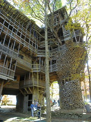 Side View of the World's Largest Treehouse (J. Stephen Conn) Tags: tn tennessee cumberlandcounty crossville