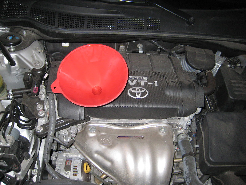 oil change for toyota camry 2007