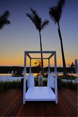Golden sunrise (dK.i photography (counting down)) Tags: morning pool sunrise canon palms relax mexico dawn golden resort cabana nuevovallarta punta tropical puertovallarta bwcpl rivieranayarit 5dmkii singhrayrgnd ef1740f40lusm