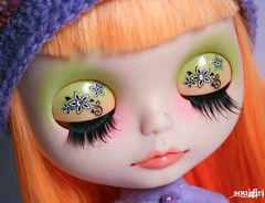 Ava's new eyelids :)