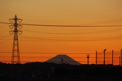 (gracias!) Tags: sunset local  mtfuji kx 20111204