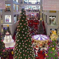 Pavilion's Christmas 2 ( Slices of Light   ) Tags: christmas xmas panorama mall shopping square lumix display panoramic malaysia pavilion cropped kuala g3 wonderland stitched lumpur malaisie malaysias    m43