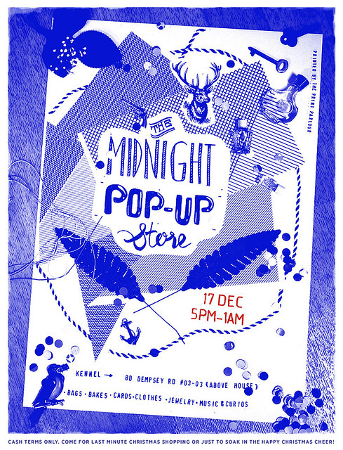 THE MIDNIGHT POP UP STORE