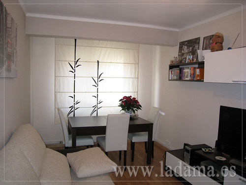 Cortinas salones modernos trendy visillo con dobles cortinas en saln villalba with cortinas - Modelos de cortinas para salon ...