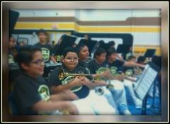 ©  Brandon's first band concert. (Mariavica17-©) Tags: schoolbandconcert mygrandsonpicnik