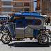 In Yunguyo la prima cittadina peruviana vedo i primi mototaxi
