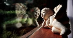 Angel (wishing of far off places) (Serlunar (tks for 6.0 million views)) Tags: reflection angel flickr do an fotos premiadas flickrduel serlunar