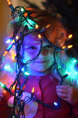 Violet And The Christmas Lights