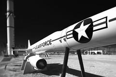 white sands missile range museum (bugeyed_G) Tags: blackandwhite bw newmexico museum whitesands missile range dragondaggerphoto bugeyedg