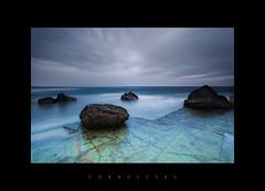 Forresters (jozsef berki) Tags: sky seascape beach canon coast rocks dusk central australia nsw 5d markii forresters jozsef berki