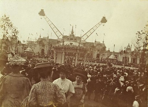 View of the Flip-Flap at the Franco-British Exhibition, London 1908