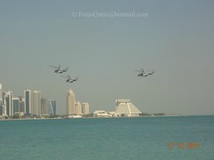 17-12-2011 (Feras.Qadora2421) Tags: december day force air national corniche 18 doha qatar   2011                  qeaf rehealsal rehealsals