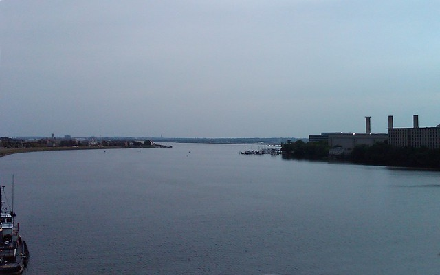 Anacostia meets the Potomac, DC