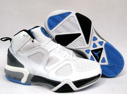 Mens Air Jordan OL School IV White Black shoes