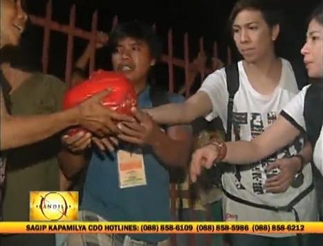 Kris Vice Angel & Anne personal na namahagi ng tulong sa Cagayan de Oro_3