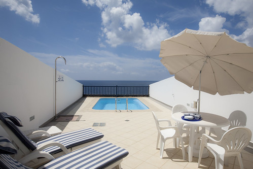 Sea View 23 a 3 Bedroom, villa with private pool and Internet. Located in Puerto Calero, Canary Islands Lanzarote, Villa Holiday Rental