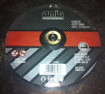 Disco corte metal 230