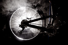 The Murder Cycle (D.Maitland) Tags: bike smoke garage insomnia enduro specialized strobist 405am boredonamondaynight