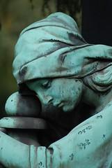 Suffering and Passion lie close together (SpitMcGee) Tags: friedhof woman cemetery germany aachen passion gravestone nrw lust frau suffering grabstein rodstewart ostfriedhof leidenschaft