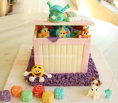 Toy Box Cake Designs