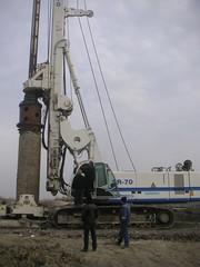 Soilmec SR-70 Piling Rig - Baku / Azerbaijan (Erke Group) Tags: crane drilling anchoring coredrilling crawlercrane telehandler submersiblepump jetgrouting erke boredpile pilingrig dieselhammer vibrohammer hamdikaya hydromill hydroulichammer minipiling roughtterrain vibrexpile erkedisticaret erkedisticaretltd