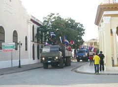 AP1070423 (El Universal de Cuba) Tags: en aniversario de libertad la castro fidel fotos entrada su 53 caravana eugenio prez bayamo almarales rememoran