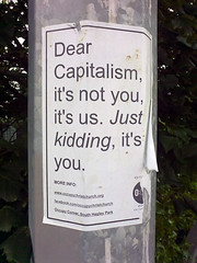 occupychristchurch-capitalism by dutytodo, on Flickr