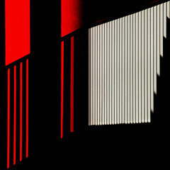 Shadow play (Thomas Leth-Olsen) Tags: red black colours shadows gelender