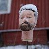 Penny for your thoughts (ilkkajii) Tags: winter snow silent head silence stare wisdom