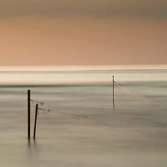 Colour of the sea 2 (Vukadinovic Djordje) Tags: longexposure sea orange holiday seascape colour fishing gray fishingnet nd110