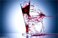 Shooting II - Explore (pascalbovet.com) Tags: red cup broken glass blood shot shooting