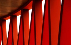 Red it is (mennomenno.) Tags: red abstract netherlands rood rotterdamzuid luxortheater