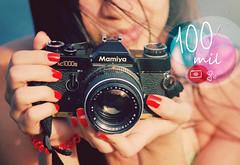obrigada, (~gciolini) Tags: camera brazil 3 love mamiya colors brasil analog vintage photography interesting analgica photographer thankyou amor retro vermelho passion lovely fotografia grazie 2012 s2 rednails fotgrafa obrigada 100000views nikion expressoin 100milviews nc100s gciolini