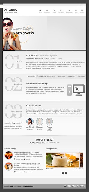Diverso - A Flexible WordPress Theme