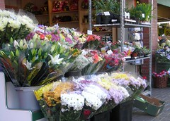 I'll say it with flowers - Happy New Year! (bryanilona) Tags: flowers country brierley marketstalls bej streetblack hillhigh