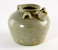 1. Small Antique Chinese Pot