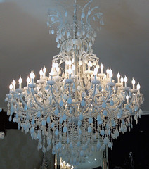 "8083 MASSIVE WHITE CHANDELIER • <a style=""font-size:0.8em;"" href=""http://www.flickr.com/photos/43749930@N04/6702885629/"" target=""_blank"">View on Flickr</a>"
