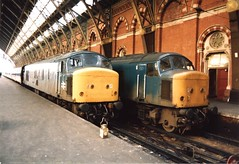 45103 45138 (bluelocos) Tags: blue st br diesel loco class 45 pancras
