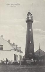 Hoek van Holland - High Light, 1910s? (World Lights) Tags: vuurtoren ansichtkaart prentbriefkaart hooglicht