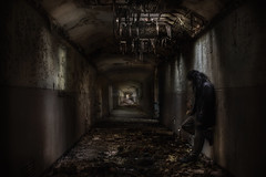 Even psychopaths have emotions if you dig deep enough    : (andre govia.) Tags: building decay andre hallway sanatorium asylum corrosion govia