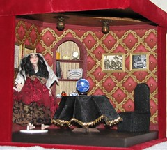 1/12 scale fortune teller's room (weebruins) Tags: miniature tarot 112 fortuneteller dollhouse crystalball ouija dollshouse tasseography tealeaves roombox oneinchscale 112scale maisondepoupes 112thscale dollhouseminiature ceromancy tealeavesreading scaledollhouseminiature scaleminiature teammids weebruins fortunetellersroom candlewaxreading waxreading