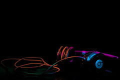 colored lights :D (Salman mansour) Tags: light color headphone beats