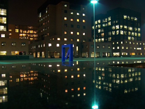 Bicocca by night