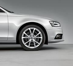 Audi A4 Accessories Cast Aluminium Wheel In 5-Spoke V Design (M25 Audi) Tags: official exterior interior accessories audi m25 genuine m25audi audia4accessories officialaudi audigenuine audigenuineaccessories