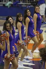 Gator Dazzlers (dbadair) Tags: basketball cheerleaders florida gators lsu tigers cheer sec uf odome