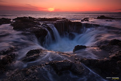 Thor's Well (djniks) Tags: sunset oregon waves cove devils well waterhole capeperpetua thors sigma1020 devilscove canon40d thorswell