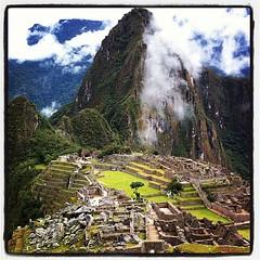 Machu Picchu... What a view