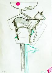 sketch1 (Natalija Christina) Tags: tree nature animal pencil sketch doodle unknown scribble