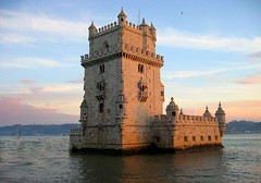 Belem  Tower... (Chrismatos Unforgettable Mr Ricky.(Too busy)) Tags: world road park bridge blue portrait bird history beach portugal nature beautiful clouds canon river pose season lens creativity person landscapes photo funny europe artist day colours friendship expo country joy adorable mundo mistery raibow hollidays relections citiy explored