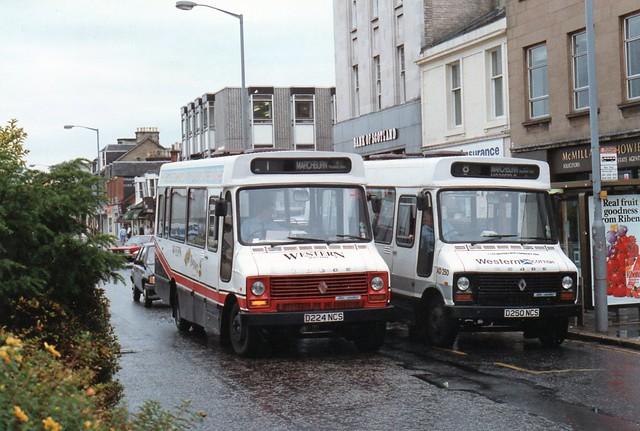 bus coach scottish renault western dodge series 50 s56 50series d224ncs d250ncs